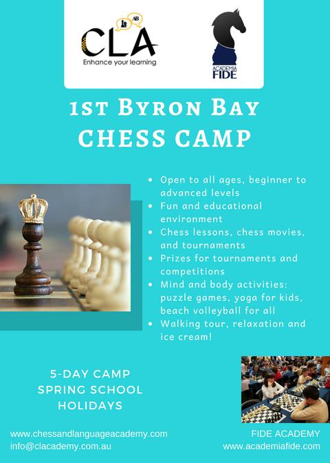 Chess camp Byron Bay