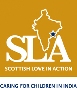 SLA logo and strapline