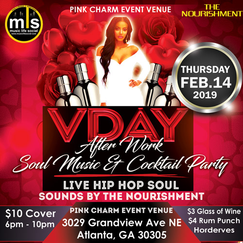 Valentine S Day After Work Soul Music Cocktail Party And Mixer