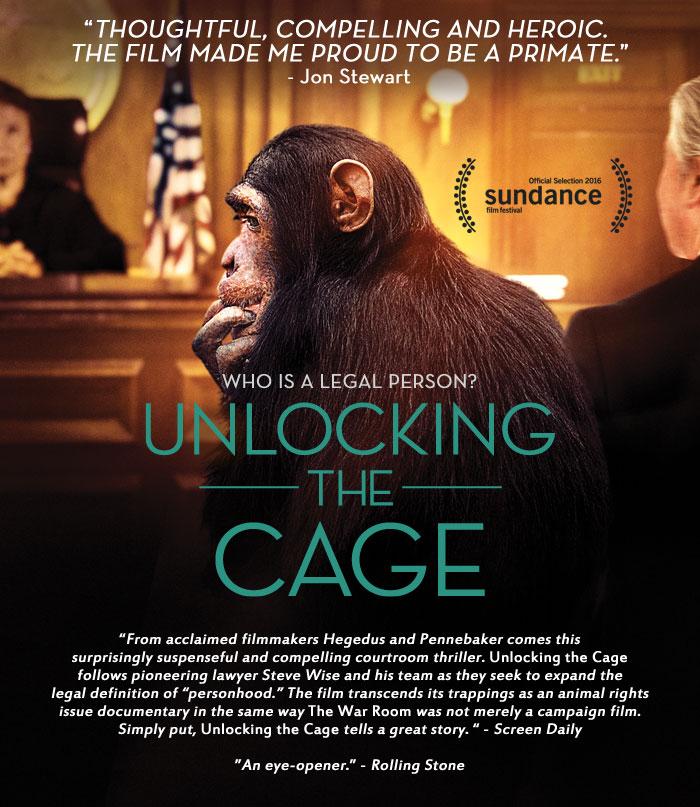unlocking the cage movie premiere nonhuman rights