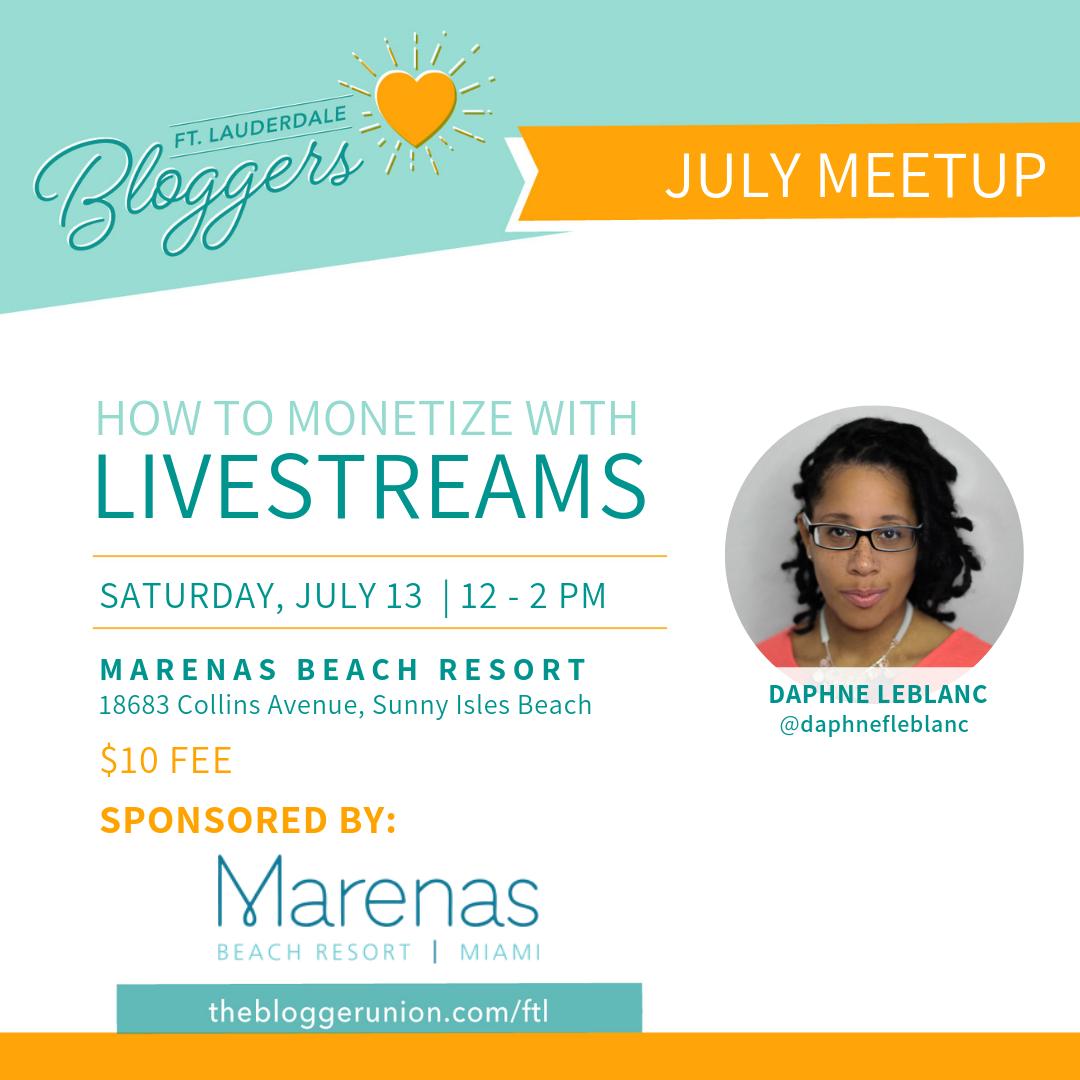 Marenas Beach Resort in Sunny Isles Beach hosts Ft Lauderdale Bloggers