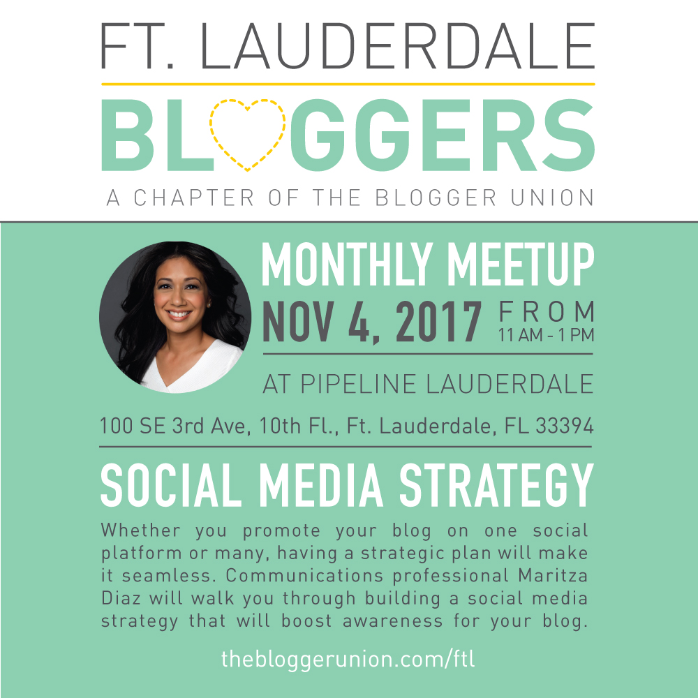 Ft Lauderdale Bloggers Meetup