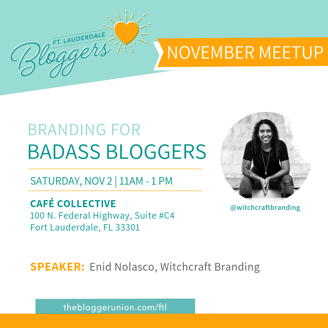 Blogger Meetup on Branding for Bloggers
