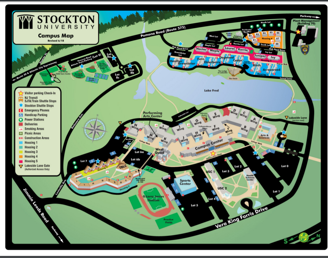 Stockton Map