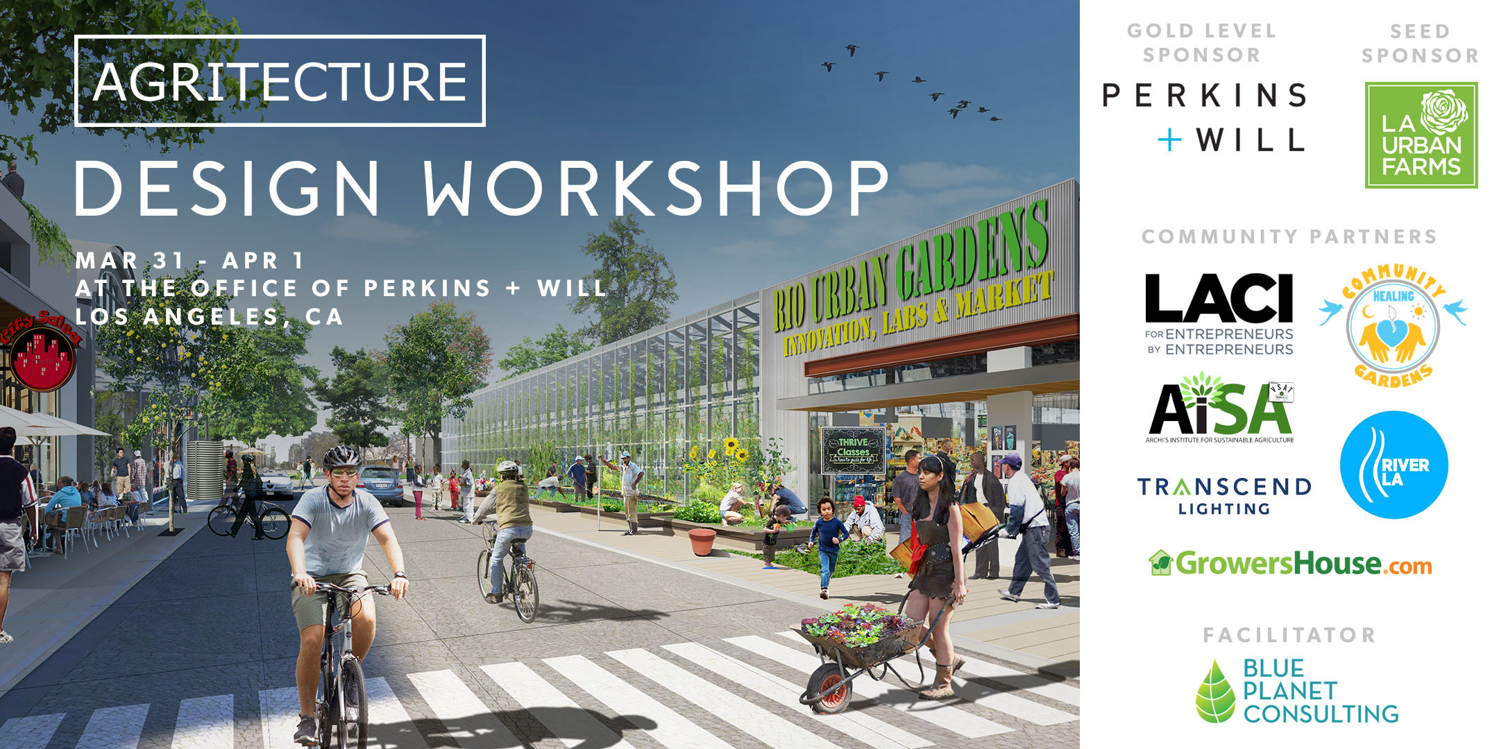 Los Angeles Agritecture Workshop Tickets Sat Apr   At - Los angeles postal code