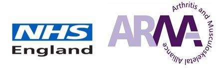 NHSE & ARMA Logos