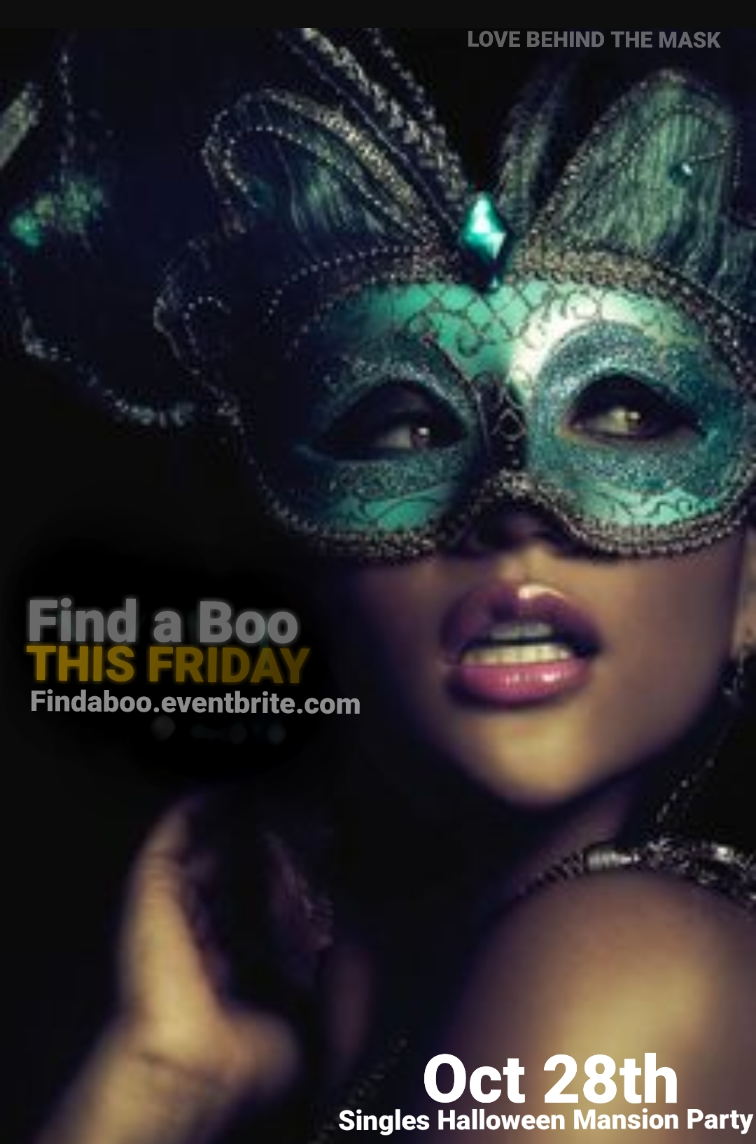 FIND A BOO Singles Halloween Costume Party Tickets, Fri, Oct 28 ...