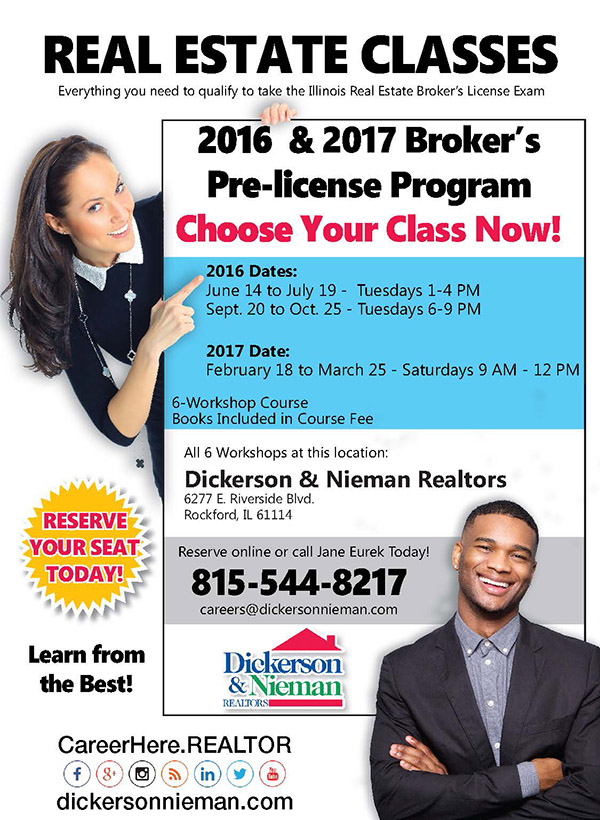 Rockford IL Real Estate Classes