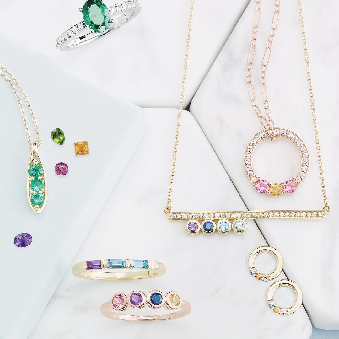 Colored Gemstone Jewelry