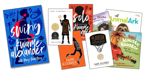 Books by Kwame Alexander