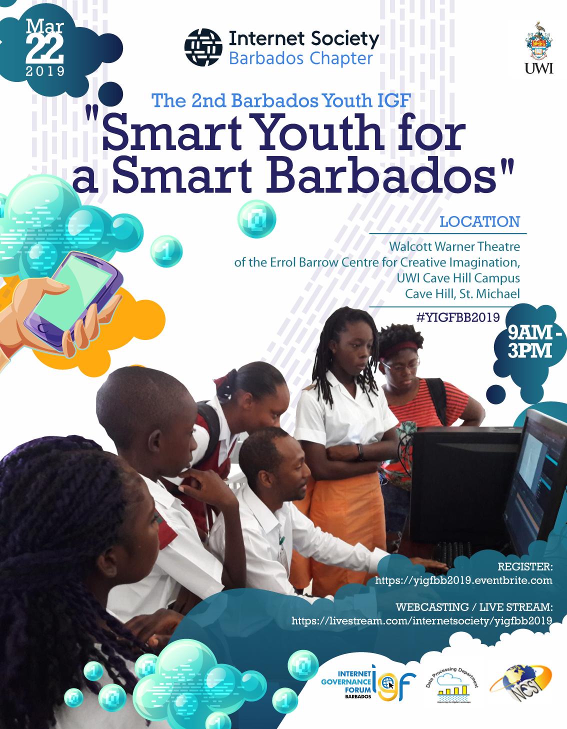 Youth IGF Barbados 2019 Poster