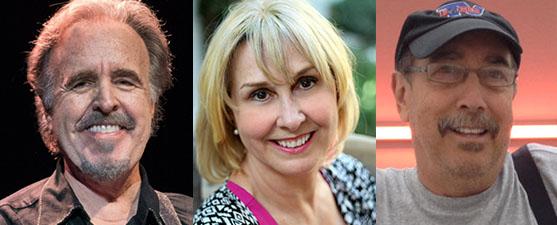 2017 Creative Community Award recipients Dave Plenn, Lissa Reynolds and Howard Spector