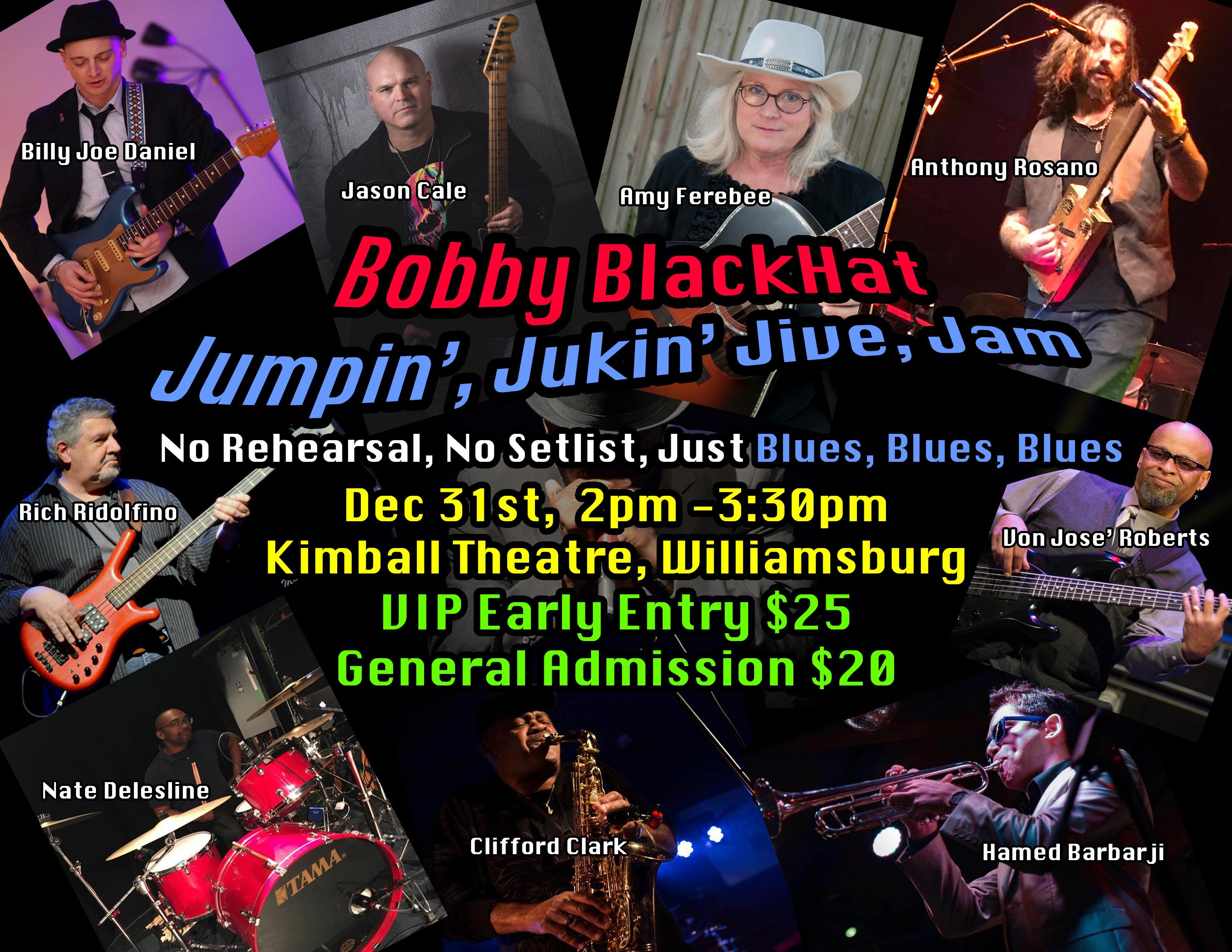 Bobby BlackHat Jumpin', Jukin', Jive, Jam