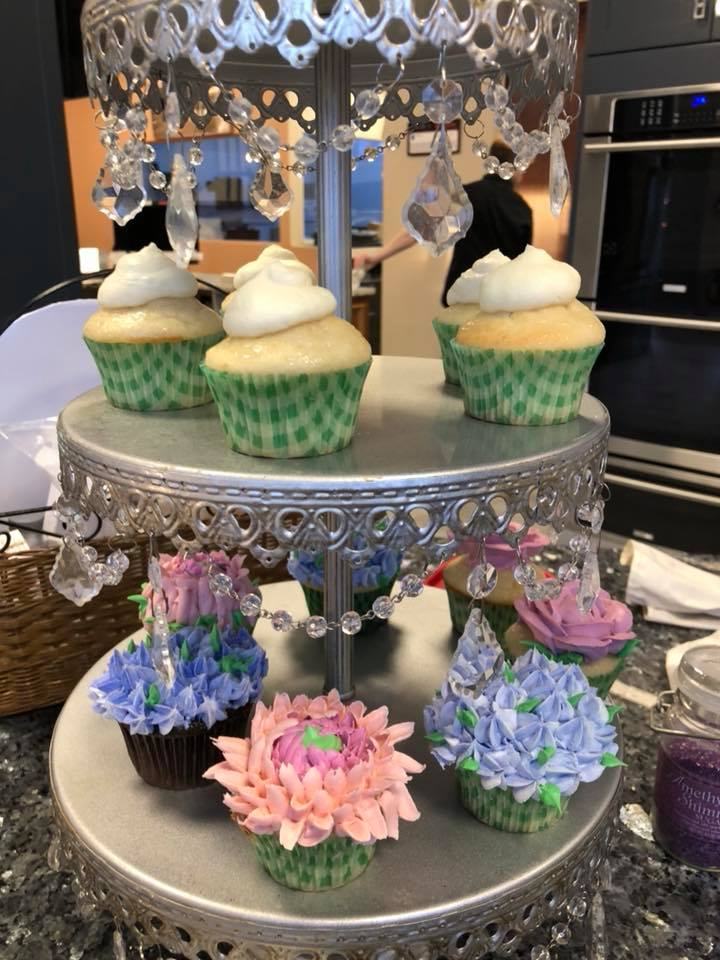 Fancy Cupcakes by Decorated Dessert