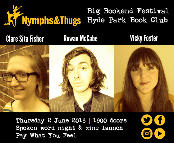Nymphs & Thugs and Leeds Big Bookend