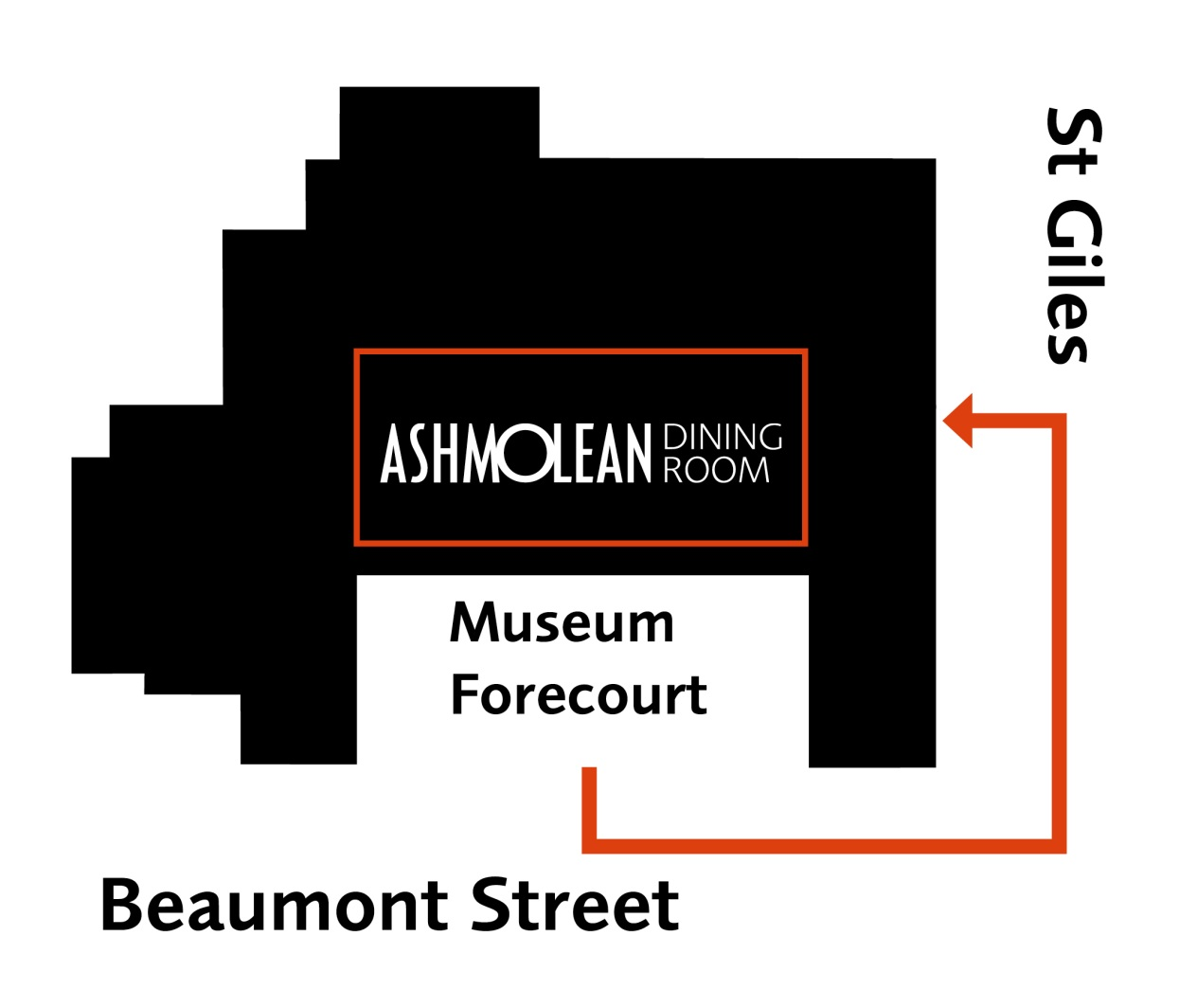 Please Come To The St Giles Side Entrance Of Museum Where Ashmoleans Dining Room Is Located