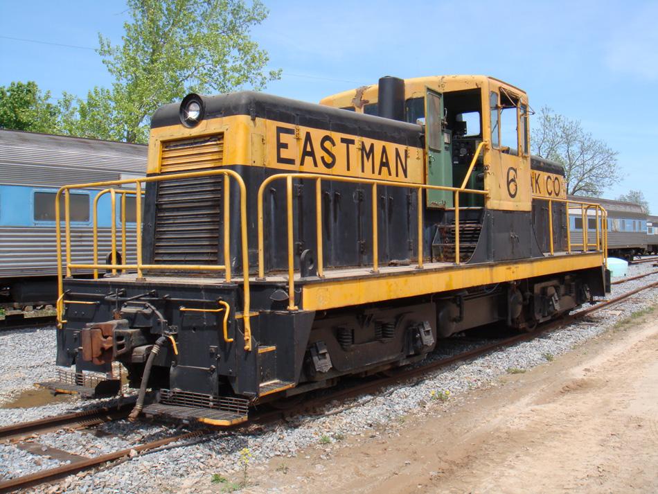 kodak train eastman railroad rides rochester rg sep museum russell station ge genesee valley weekend september