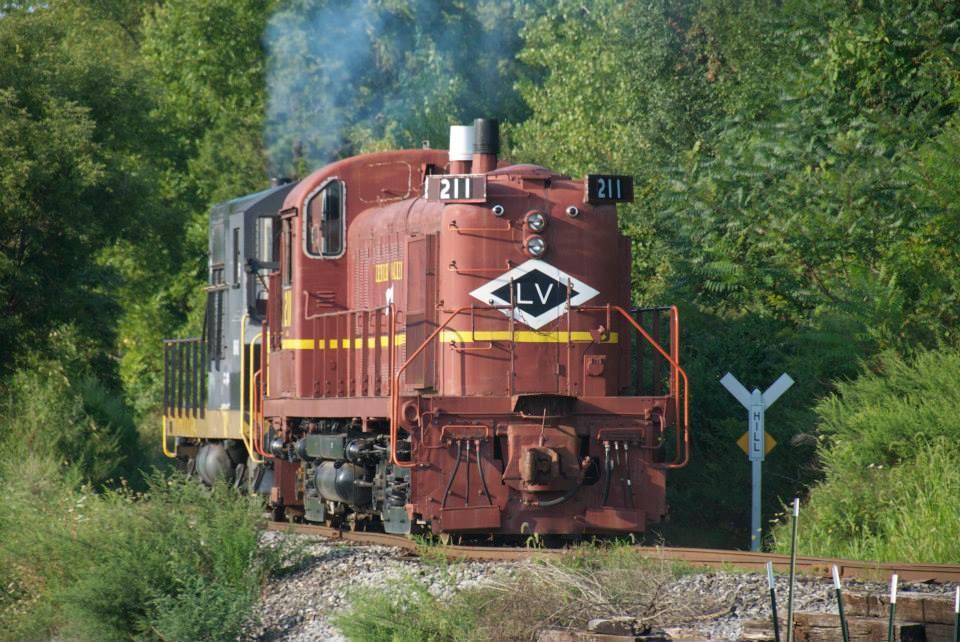 Diesel Trains at RGVRRM