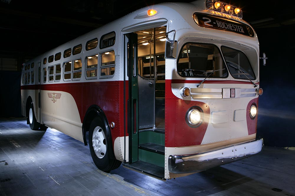 RTS Vintage Bus Exhibit