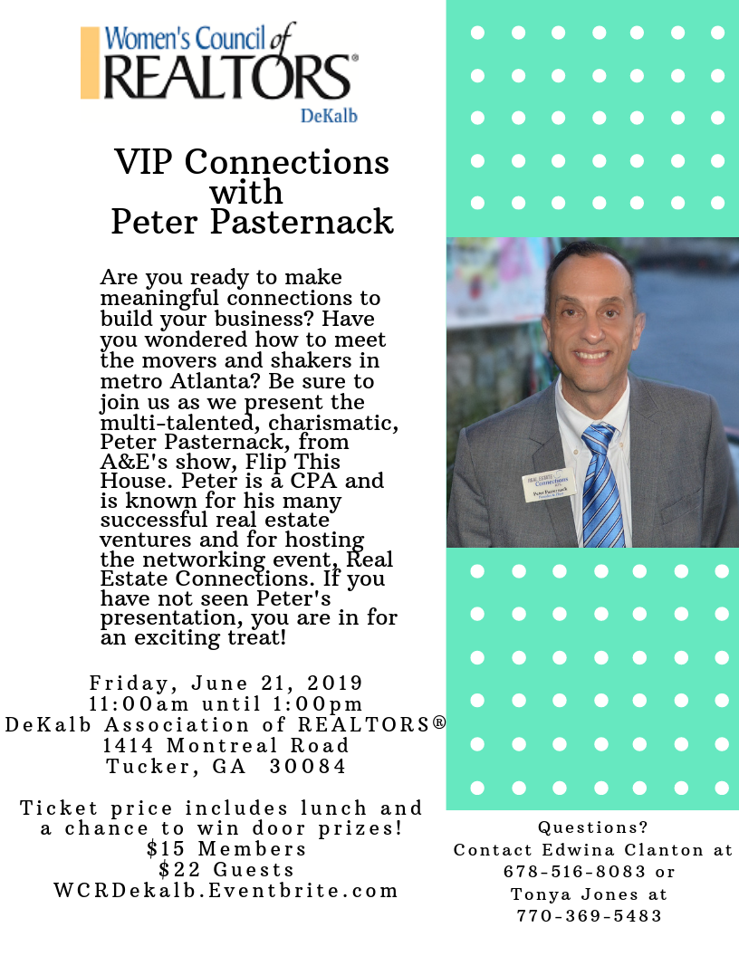 VIP Connections with Peter Pasternack