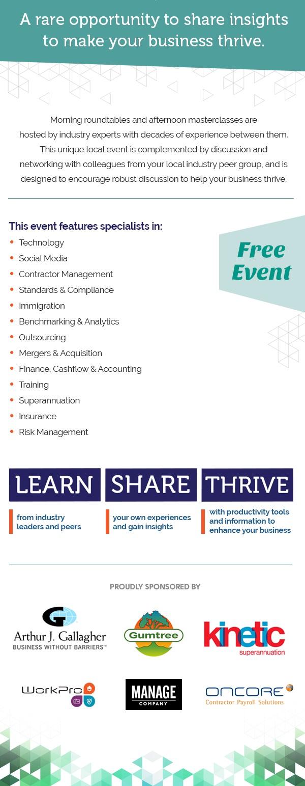 Recruitment Yarns ANZ Event Description
