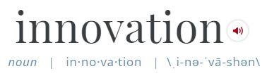 Define Innovation