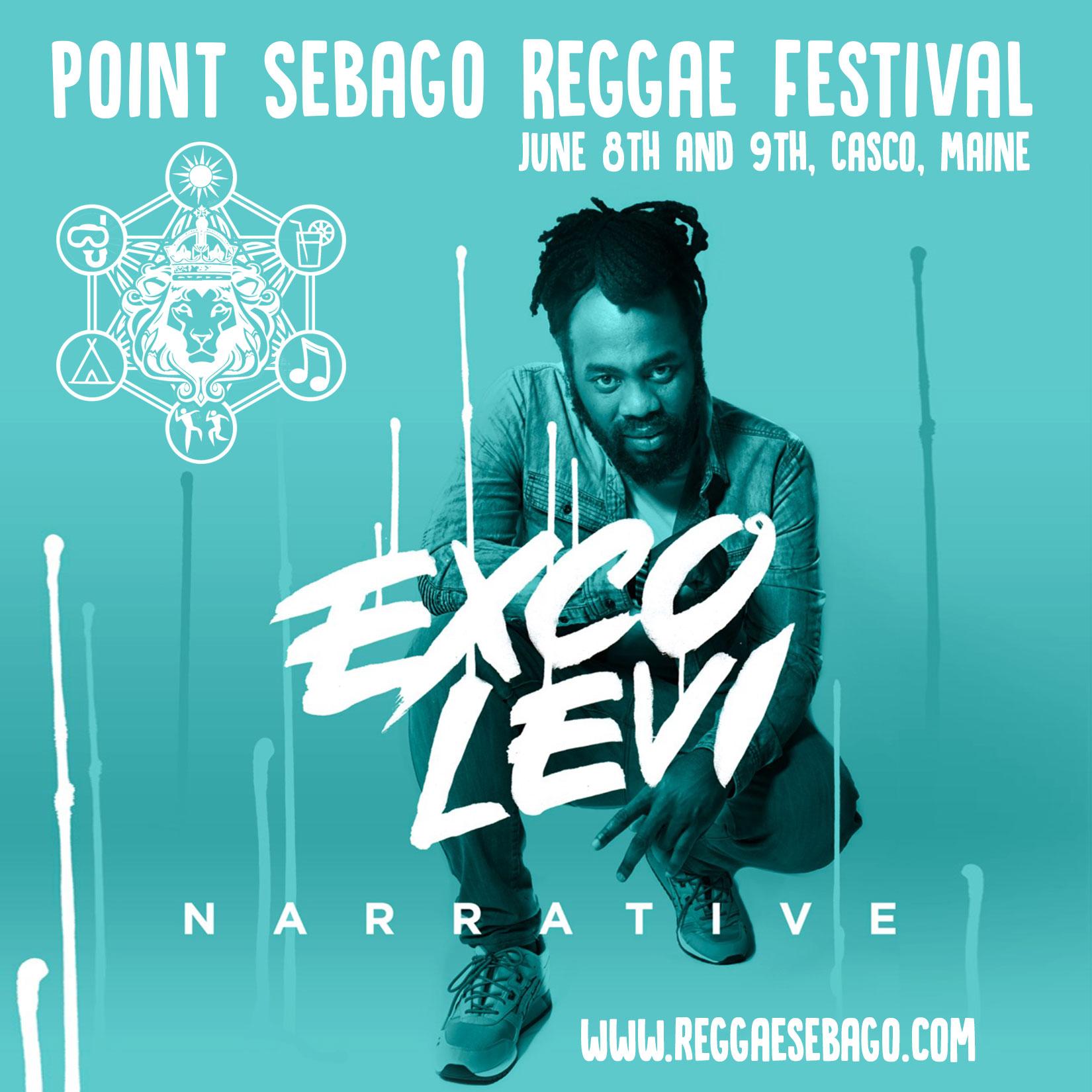 Exco Levi, Point Sebago Reggae Festival