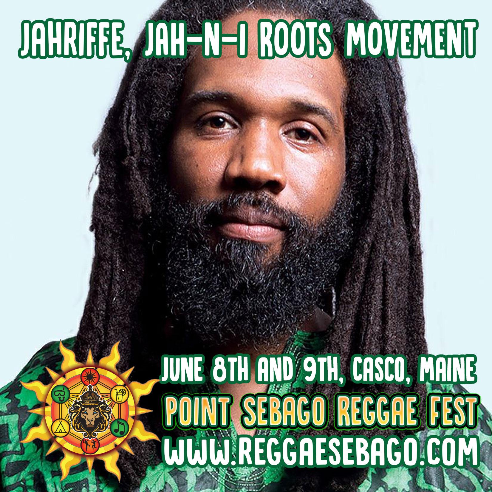 Jahriffe, Point Sebago Reggae Festival