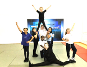 Cheerleading at Avenues Youth Project