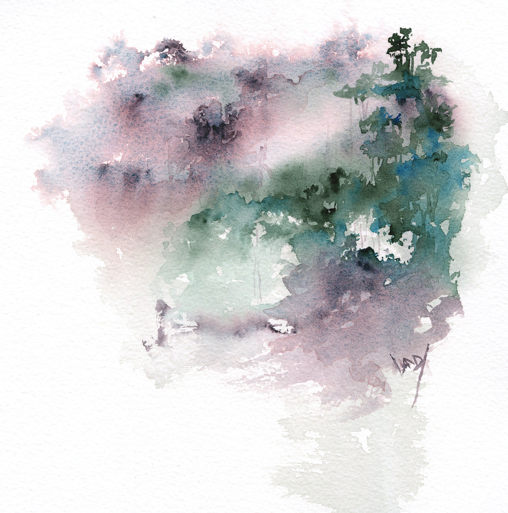 Atmospheric Landscapes in Watercolour with Vandy Massey