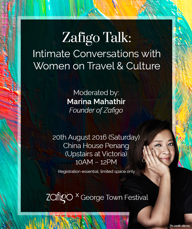 Zafigo Talk: Intimate Conversations with Women on Travel & Culture