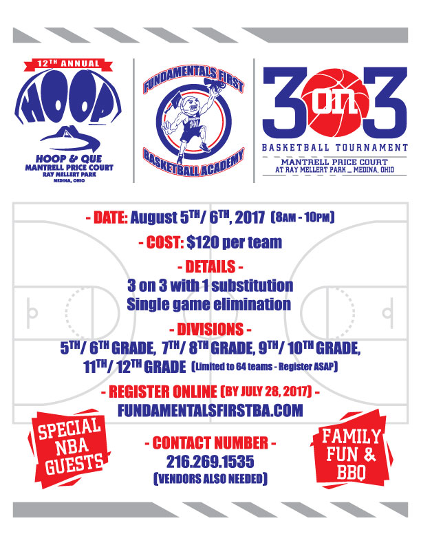 12th Annual Hoop & Que Youth Basketball Tournament