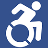 Physical disability icon