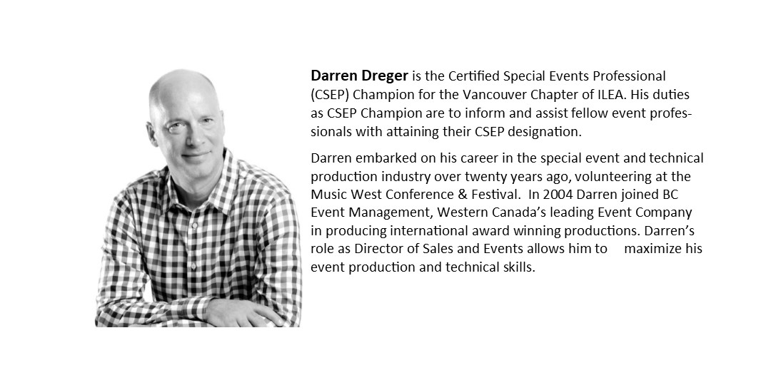 Darren Dreger, CSEP