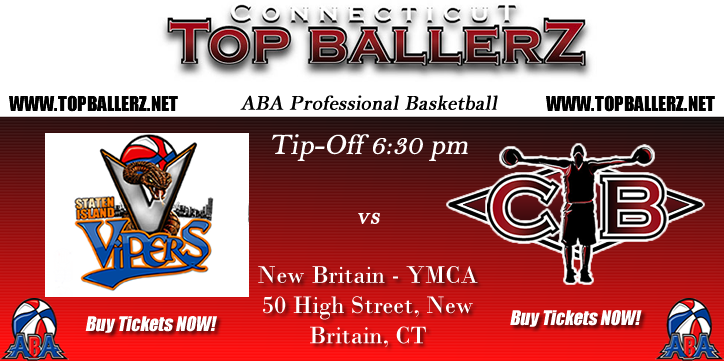 Staten Island Vipers vs Connecticut Topballerz - ABA Basketball