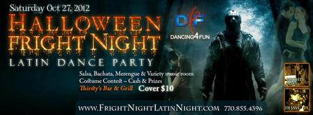 Halloween Latin Dance Party Gwinnett  - Latin dance room...