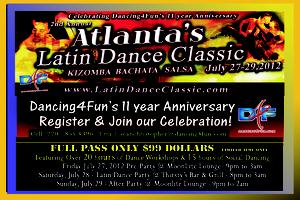 2nd Annual Atlanta's Latin Dance Classic +   Dancing4fun's...