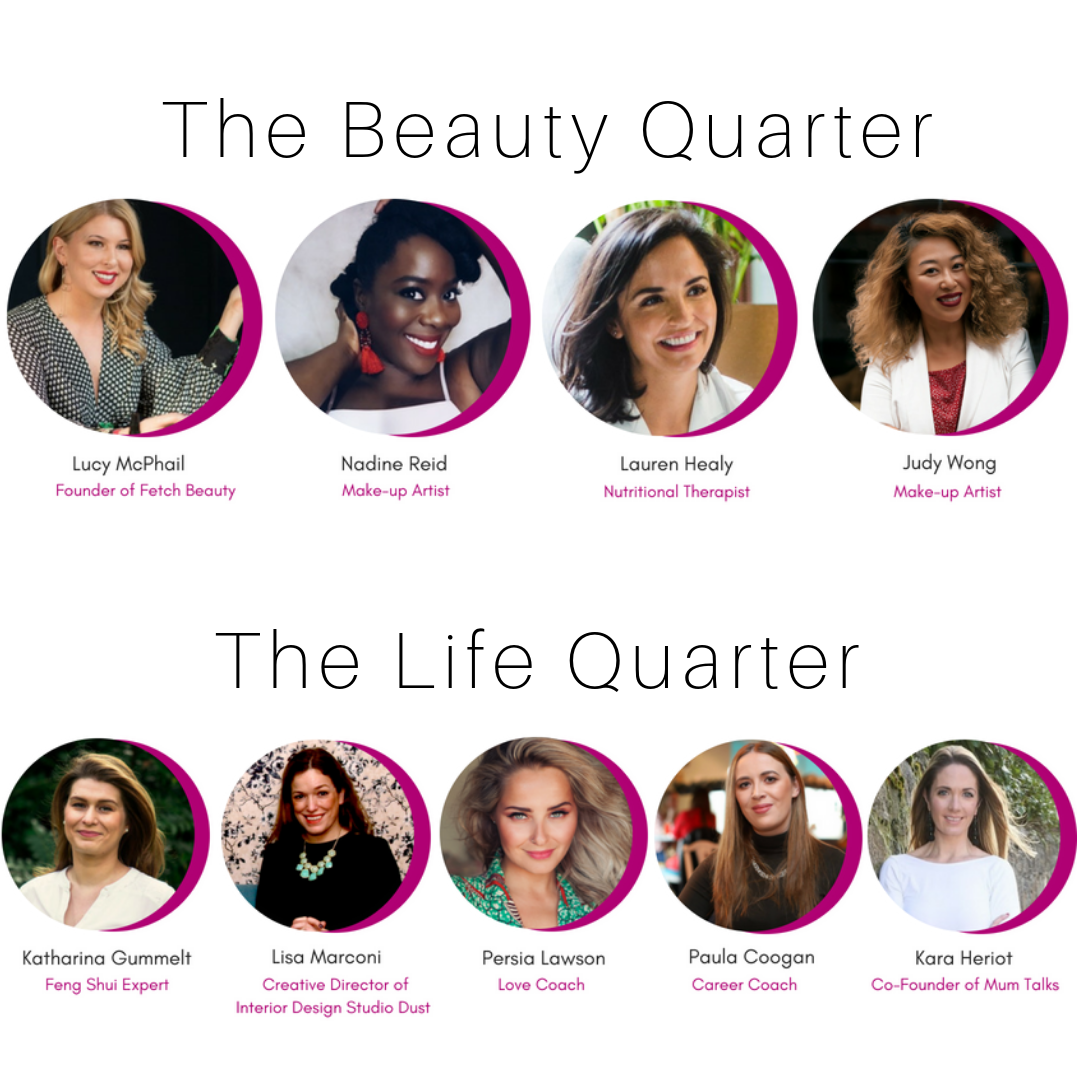 Beauty and Life Quarter Line-up