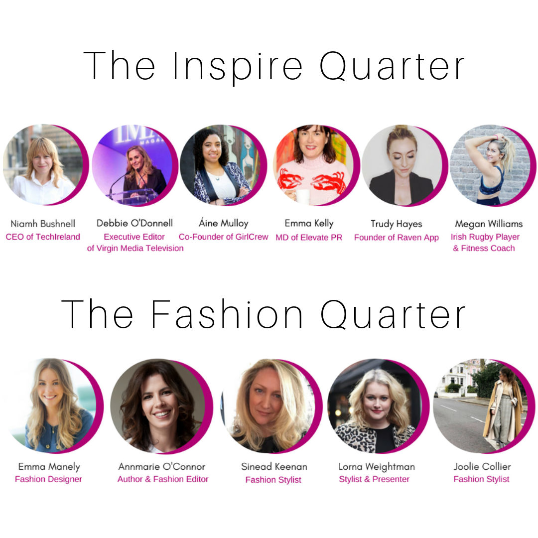 Inspire and Fashion Quarter Line-Up