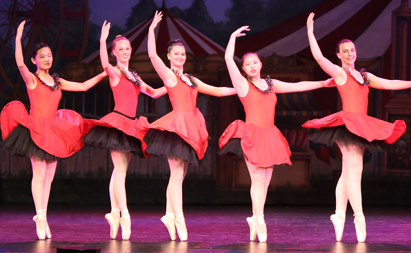 Box Hill Ballet dancers at our latest performance