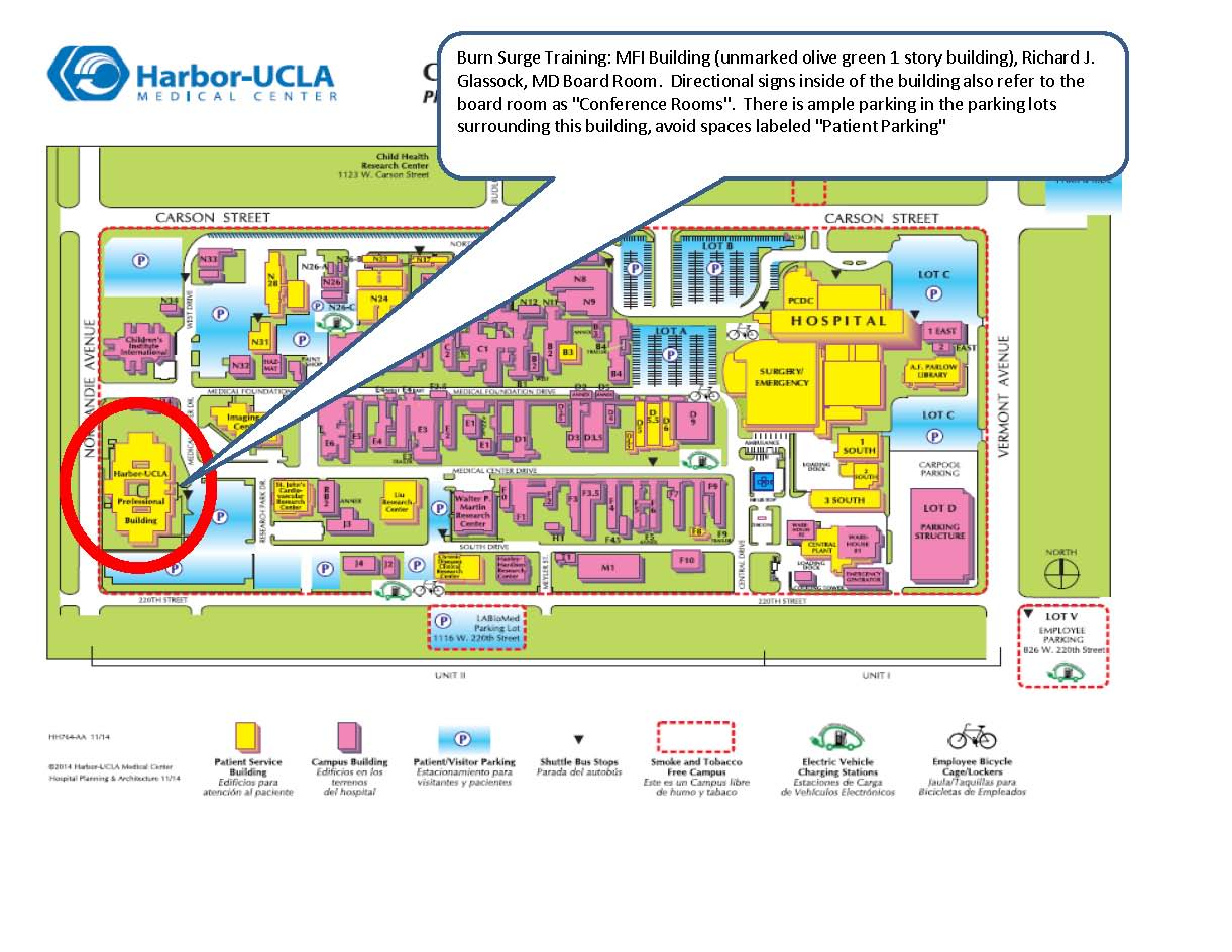 Harbor Ucla Map Images - Reverse Search