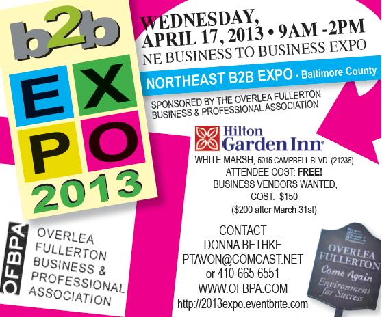OFBPA B2B Expo - 2013 Logo