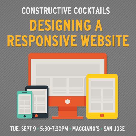 VMA Constructive Cocktails - Designing a Responsive Website