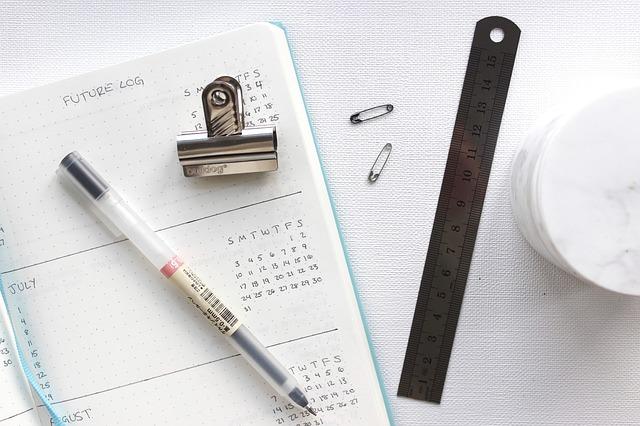 a journal calendar