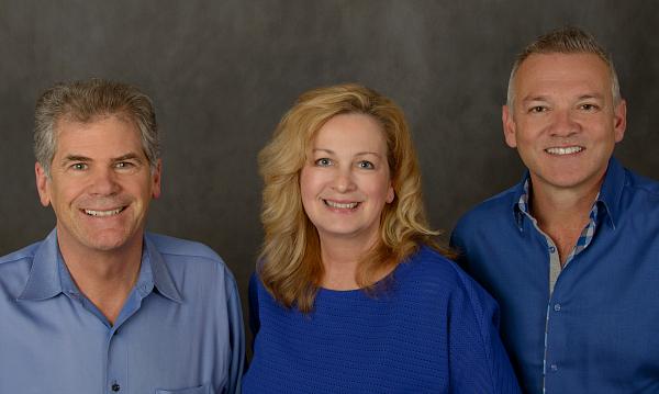 Pete Sabine, Lori O'Brien and Michael Moore