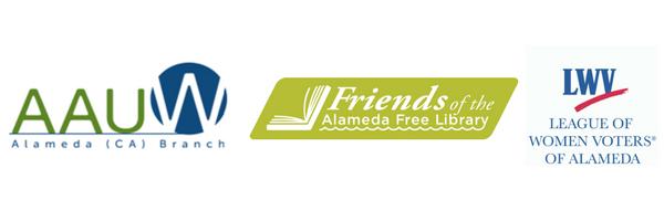 AAUW-Alameda,FAFL,LWVA logos