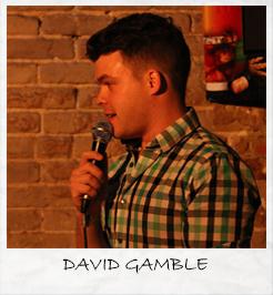Opening Act-David Gamble