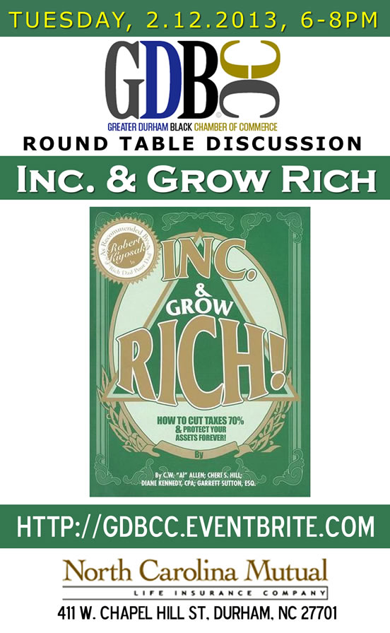 Inc. and Grow Rich