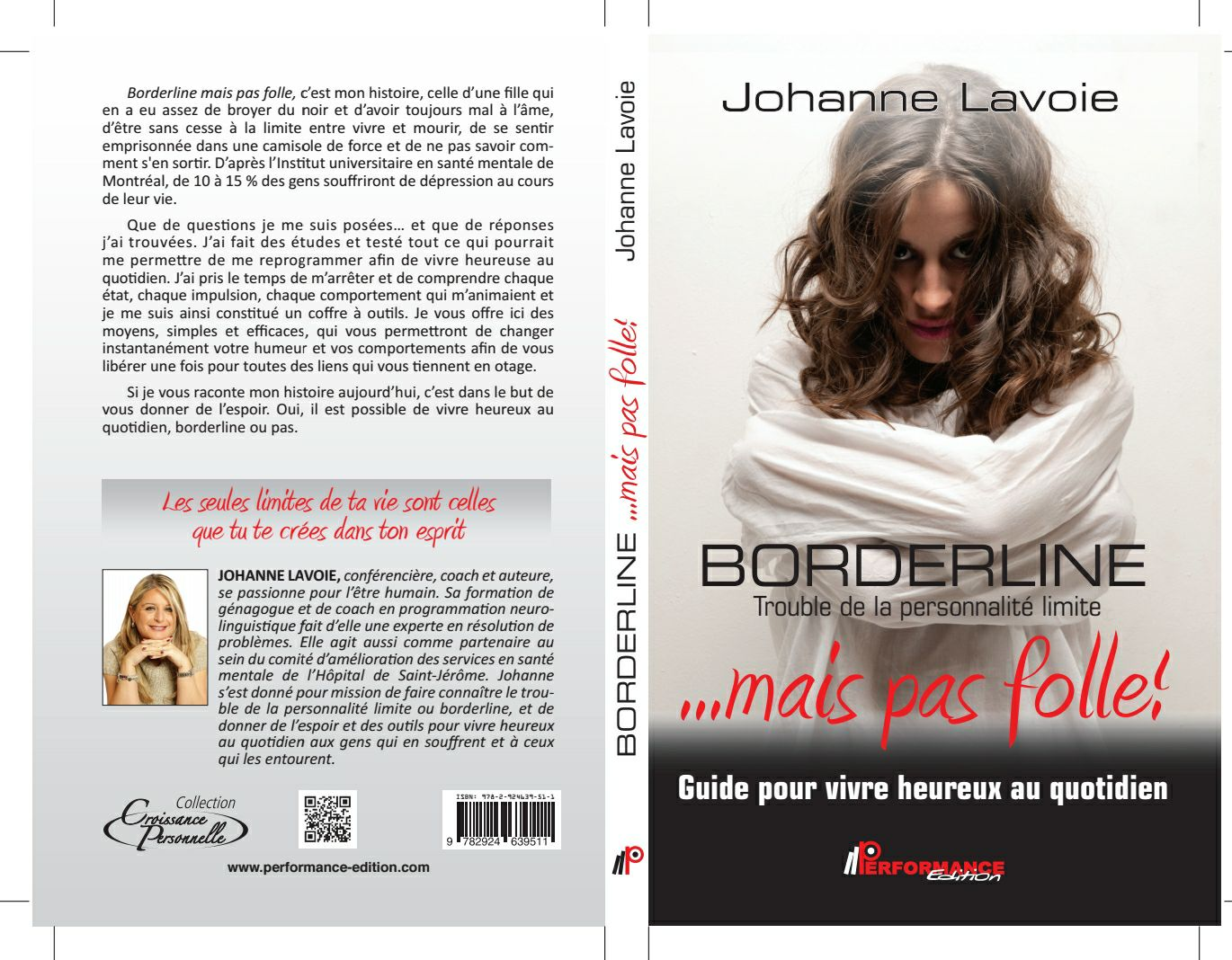 Livre Borderline...Mais pas folle!