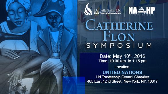 NAAHP presents the Catherine Flon Symposium on Women